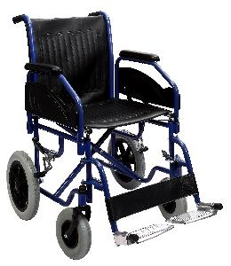 Panacea Powder Coated Steel Wheelchair,With Detachable Arm & Footrest Ai-1011