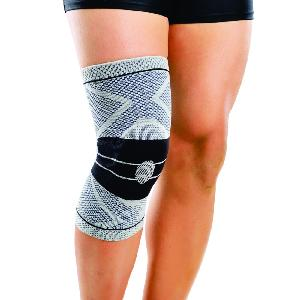 Dyna 3d Knitted Knee Brace (Right) - Black-Xxl