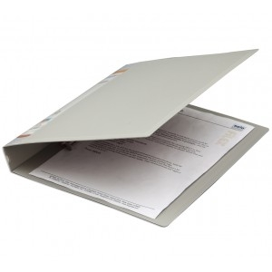 Solo Rb 404 Ring Binder-4-D-Ring (Grey)