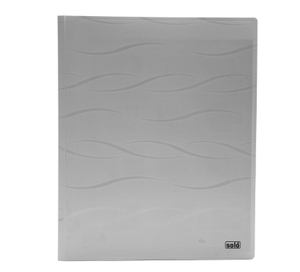 Solo Cc 115 Meeting Folder (With Secure Expandable Pocket) A4 - Grey