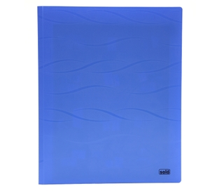 Solo Cc 115 Meeting Folder (With Secure Expandable Pocket) A4 - Blue