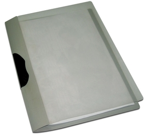 Solo Rc 603 Report Cover (Swing Clip/Transparent Top) A4 - Magic Square Grey