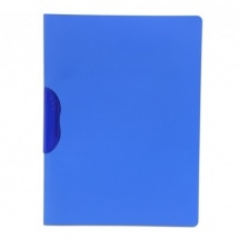 Solo Rc 611 Report Cover (Swing Clip) F/C - Translucent Blue