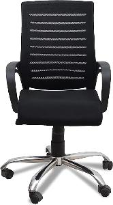 Ib Basics Black Full Back Mesh Chair Ss026