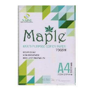 Maple A4 Size 70 Gsm Copier Paper