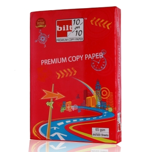Bilt Ten On Ten Premium Copy Paper White A4 65gsm