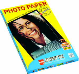 Bilt Matrix Photo Glossy Paper A4 130 Gsm 20 Sheets