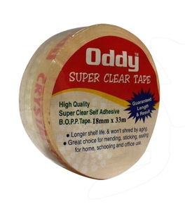 Oddy Sct-1833 18mm X 33mtrs Stationery Tape