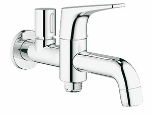 Buy Grohe BauFlow Basin Bib Tap (2 in 1) Bathroom - 20280000 Online in India at Best Prices