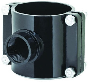 Prince Service Saddle Pipe Fitting Injection Moulded Size - 75x20