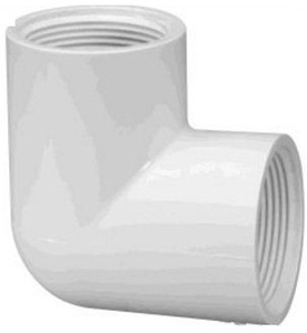 Prince Threaded Elbow Pipe Fitting Injection Moulded Size - 90x32