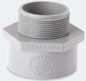 Prince Reducing Mta Pipe Fitting Injection Moulded Size - 75x50