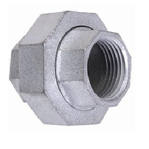 Zoloto Galvanized Iron Union Size - 1-1/2""