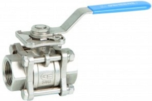Sap Is 210 Gr. Fg 200 Cast Iron Screwed Full Bore Ball Valve