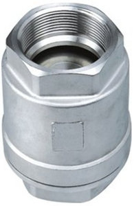 Techno Stainless Steel Vertical Type Check Valve - Size 1 1/4 Inch