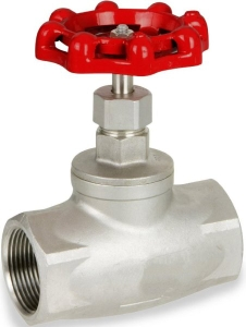 Techno Stainless Steel Globe Valve - Size 2 Inch