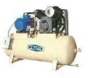 Pratix 250ltr Two Stage Industrial Air Compressor With Tank Ts-03