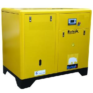 Roteck Ra-37 50 Hp Air Delivery 240 Cfm Standard Screw Air Compressor K Series