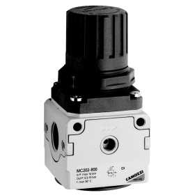 "Camozzi Mc238-R00 (Port Size G3/8"" With G Rating Flow  L/Min) Pressure Regulator"
