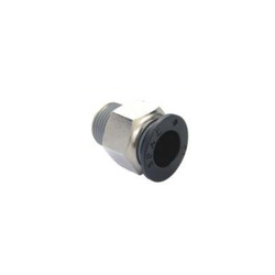Spac 1/4 Inch Straight Connector With Male Thread Epc-10-02