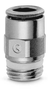 Camozzi 1/4 Inch Straight Connector With Male Thread S6510-12-1/4
