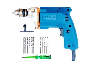 Dee Power 10 Mm Drill Machine With Drill Bit And Tester