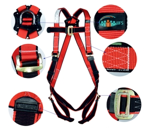 Ufs Full Body Harness Polypropylene Usp 25 Double Usp 208 (2mtr.)Pp