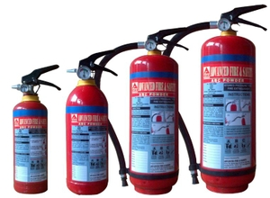 Afson Fire Extinguisher 9 Kg Abc Dry Chemical Powder- Map 50%