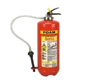 Safex Mechanical Foam Squeeze Grip Cartridge Type Fire Extinguisher 9 Litres