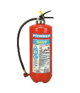 Safex Bc Squeeze Grip Cartridge Type Fire Extinguisher 9 Kgs