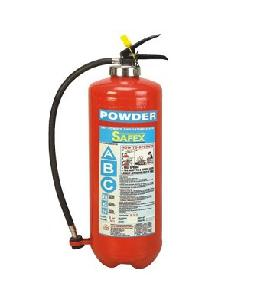 Safex Bc Squeeze Grip Cartridge Type Fire Extinguisher 6 Kgs