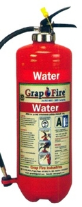 Grap Fire Water Co2 Squeeze Grip Cartrige Fire Extinguisher 6 Litre
