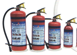 Firecon Multi Purpose Abc Stored Pressure Type Fire Extingushers 1 Kg