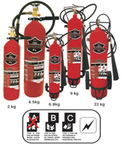Atasi Stored Pressure Fire Extinguisher Capacity 4.5 Kg