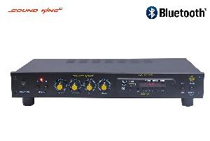 Sound King Mixer 4 Channel Amplifier With Microphone Input  Sk-8500