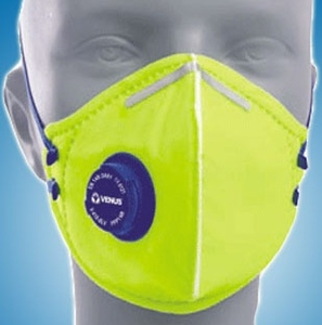 Venus Yellow Respirator Dust And Pollution Mask V-410 V