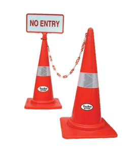 Turbo Traffic Cones Red 750 Mm