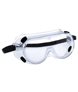3m 1621 Anti-Fog Clear Safety Goggles