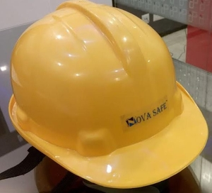 Nova Safe Yellow Hard Helmet Max - 02