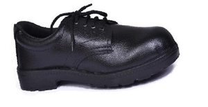 Alfa Gold Ag-01 9 No. Black Steel Toe Safety Shoes