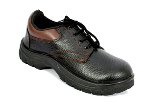 Alfa Gold Ag-04 8 No. Black Steel Toe Safety Shoes