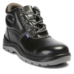 Allen Cooper Ac-1008 9 No. Black Steel Toe Safety Shoes