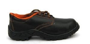 Safari Pro Safex 10 No. Black Steel Toe Safety Shoes