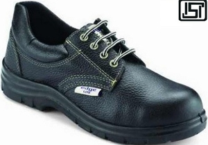 Udyogi Edge Lite Ex 8 No. Black Steel Toe Safety Shoes