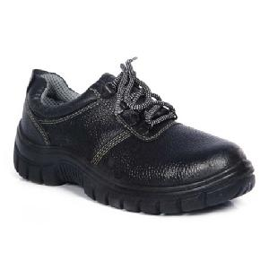 Safari Pro A-777 7 No. Black Steel Toe Safety Shoes