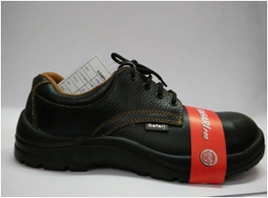 Safari Pro A999 5 No. Black Steel Toe Safety Shoes