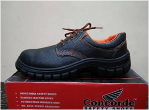 Concorde 7000 L 6.0 No. Black Steel Toe Safety Shoes