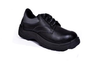 Alfa Gold Ag-05 6 No. Black Steel Toe Safety Shoes