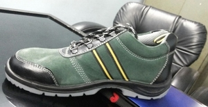 Jaypee Jogger 7 No. Green Steel Toe Safety Shoes