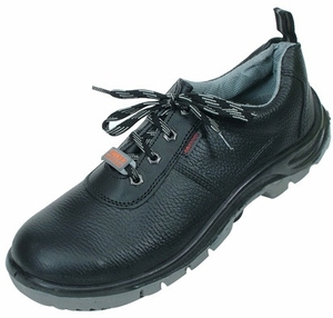 Jaypee Panther 10 No. Black Steel Toe Safety Shoes